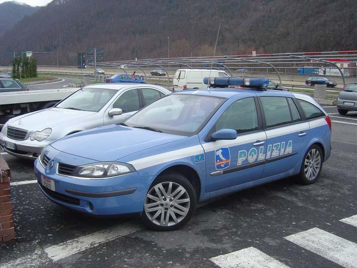 Polizia Autostrada Italy Renault Megane