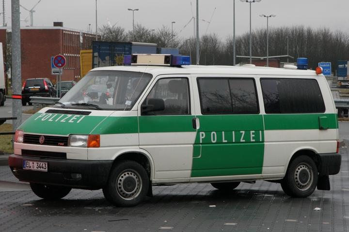 Volkwagen T4 K9-unit police Emsland
