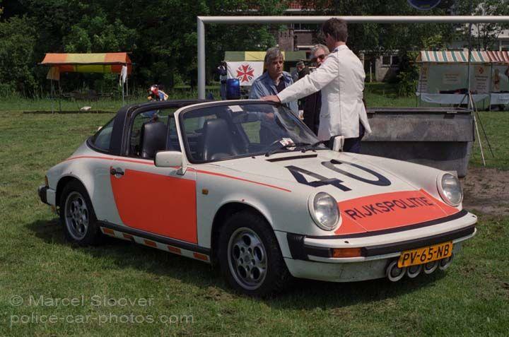 Rijkspolitie Porsche 911 Targa