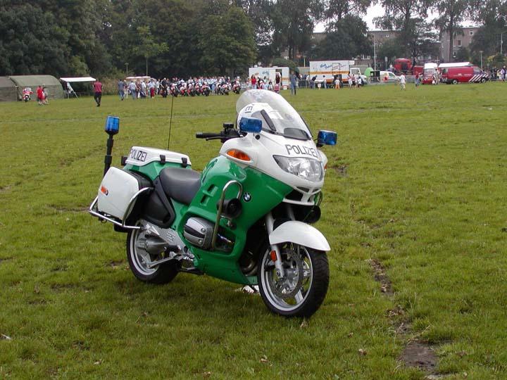 Polizei Düsseldorf BMW Motorcycle