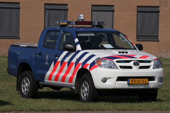Toyota Hilux Dutch military police