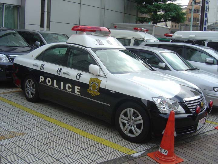 Tokyo Police Department Toyota Crown at Ueno