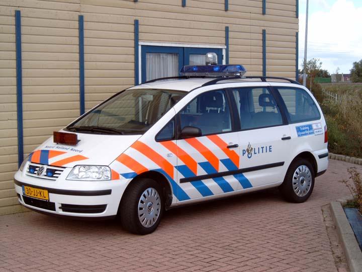 Politie Noord-Holland Noord VW Sharan