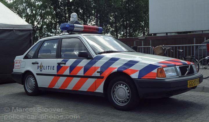 Volvo 440 Patrol car police Haaglanden