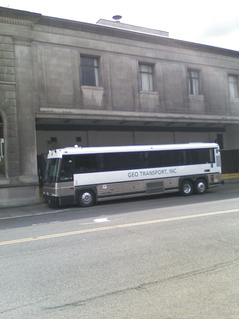 Immigration Detainee MC-9 Coach, Portland Oregon
