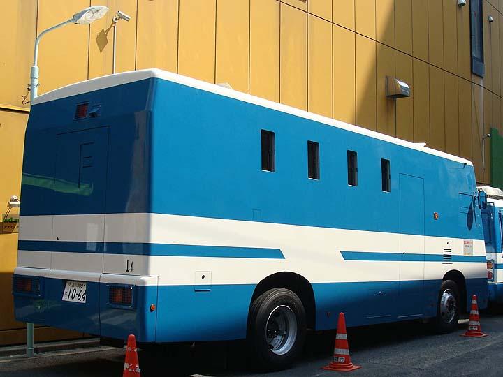 Heavy Riot bus Isuzu Tokyo police