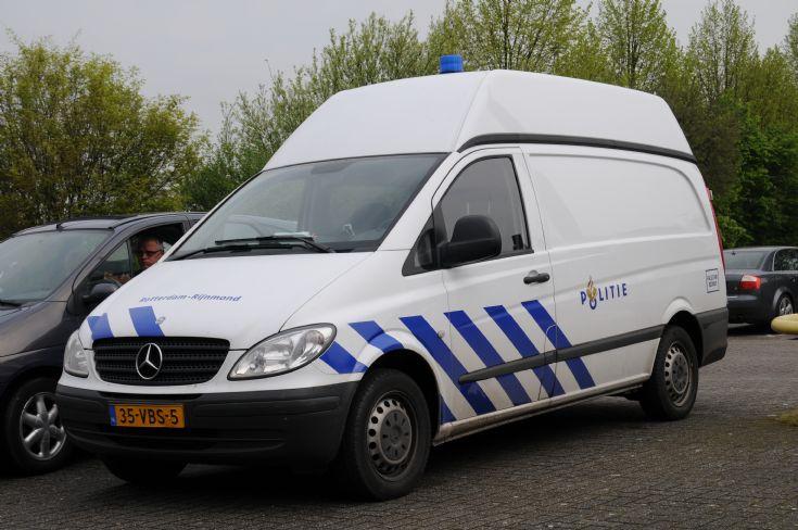 Rotterdam Rijnmond Police Mercedes Benz Vito