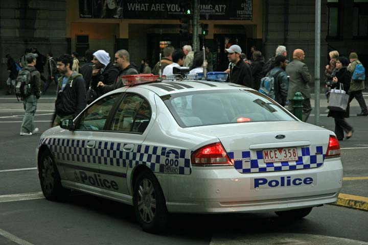 Melbourne police department Ford Falcon MkII