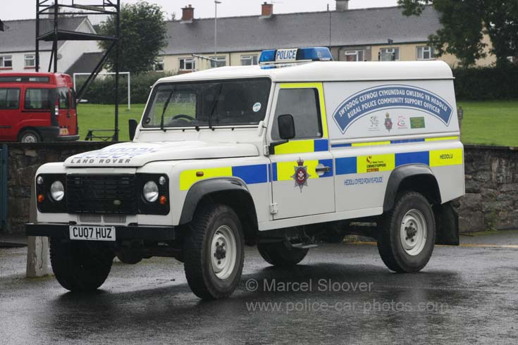 Rural Community Support Officer Land Rover