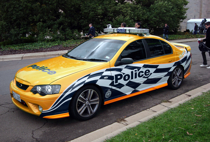 Ford XR6 Turbo ACT Police