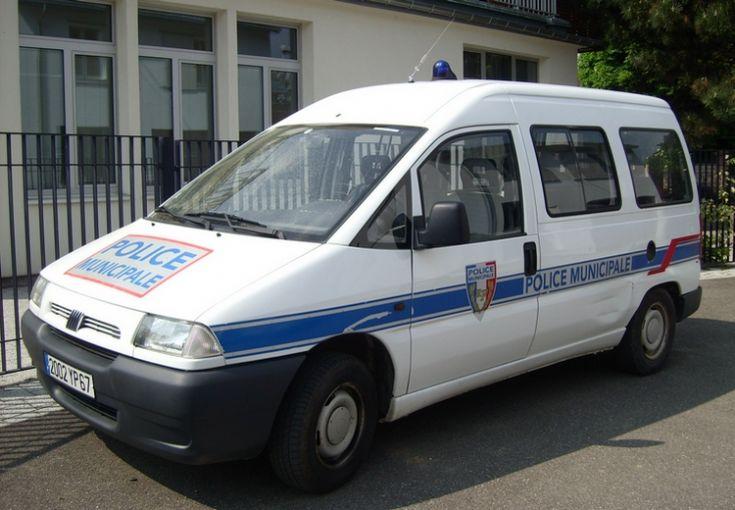 Police Obernai Alsace Fiat Scudo
