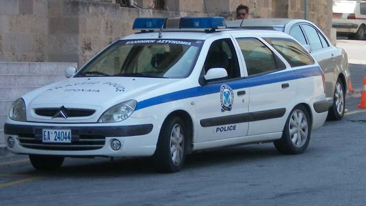 Rhodos Greece Police Citroën Traffic police