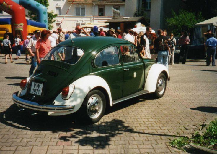 VW Beetle Polizei Baden-Württemberg