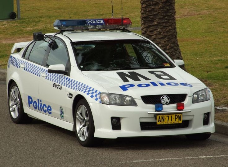 Holden VE NSW Police Australia