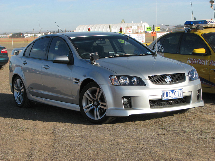 Holden Victoria Police Australia unmarked
