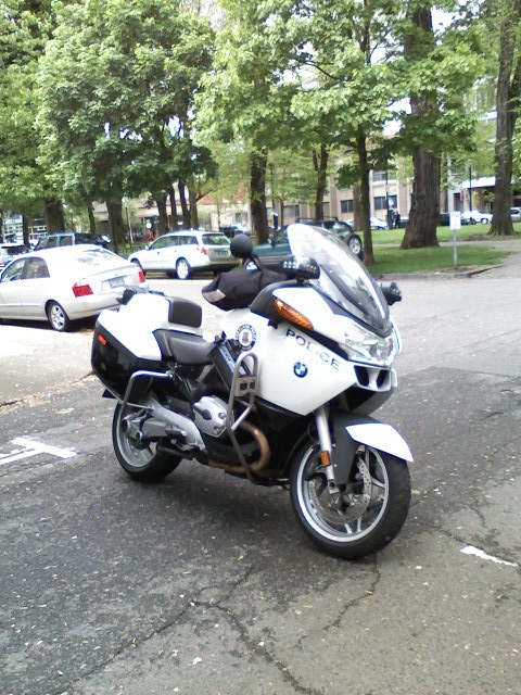 BMW Police motorcycle Portland Oregon