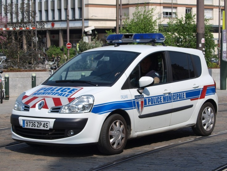 Renault of Police Municipale