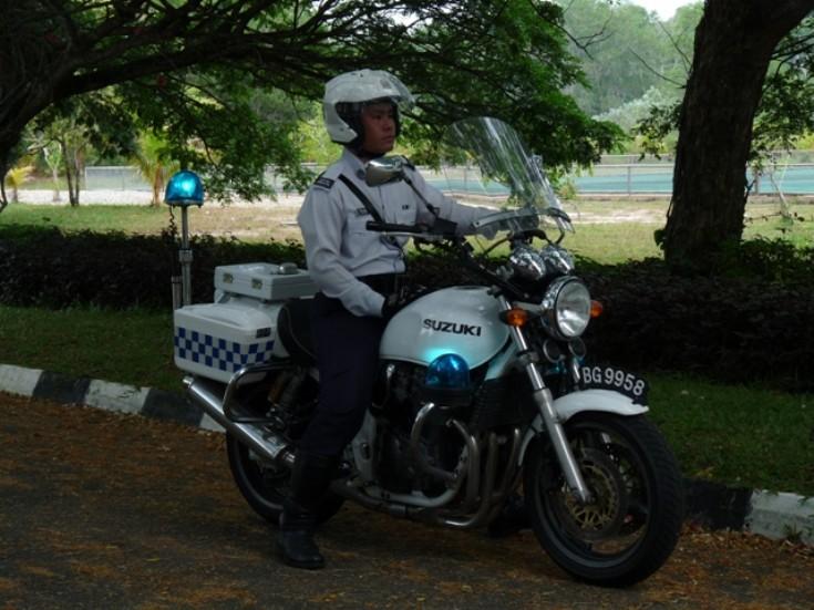 Suzuki GSX750P Royal Brunei police