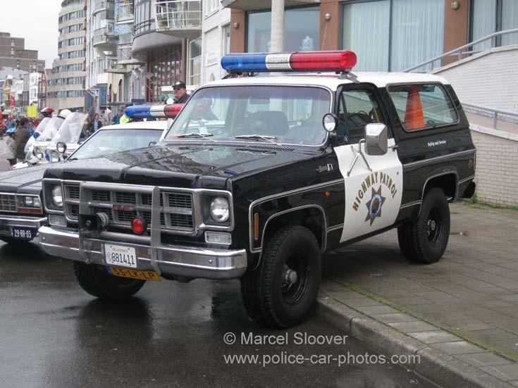 GMC Jimmy California Highway Patrol