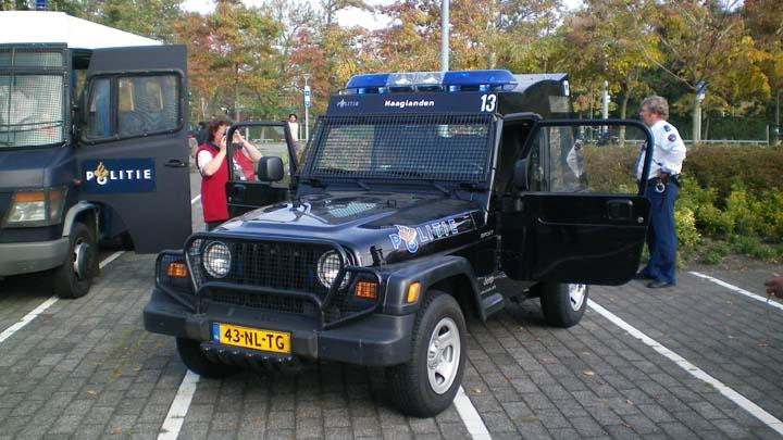 Regio Politie Haaglanden Jeep Wrangler ME