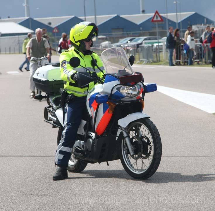 Police motorcycle Den Helder