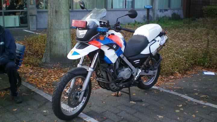 Regio Politie Haaglanden BMW Motorcycle