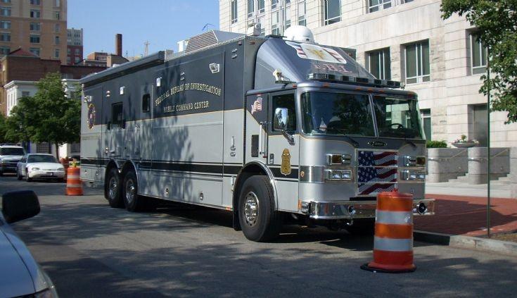 FBI Mobile Comman Centre