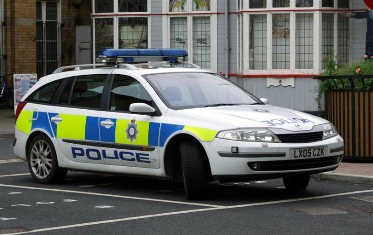 British Transport Police Renault Laguna