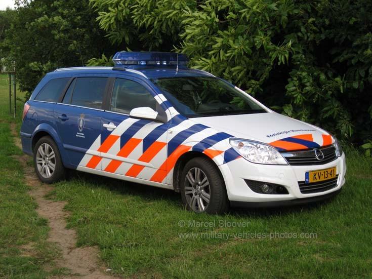 Opel Astra Koninklijke Marechaussee