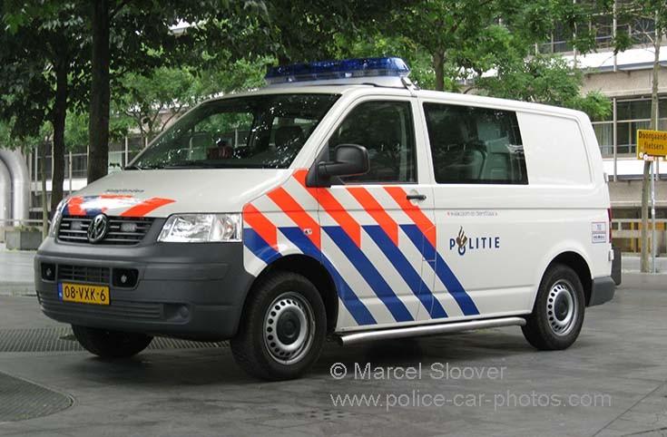Politie Haaglanden Volkswagen T5 08-VXK-6