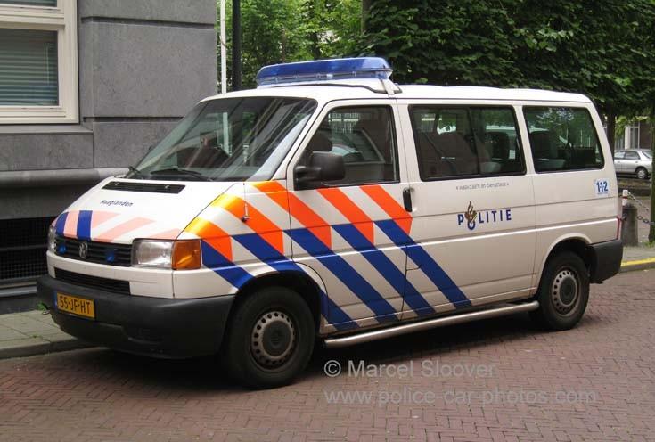 Volkswagen Transporter T4 politie Haaglanden
