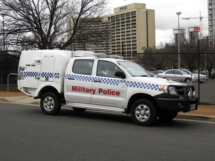 Police Car Photos - MP Toyota Hilux, Canberra ACT, Australia
