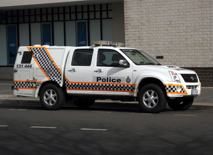 ACT Police Holden Rodeo