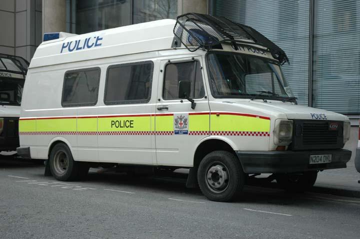 London City Police LDV police van N204DYL