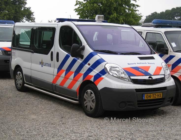 Opel police van Noord-Holland Noord