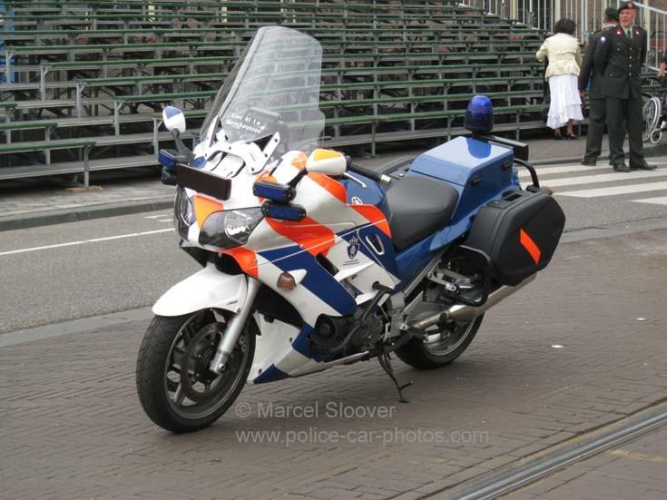 Yamaha motorcycle Koninklijke Marechaussee