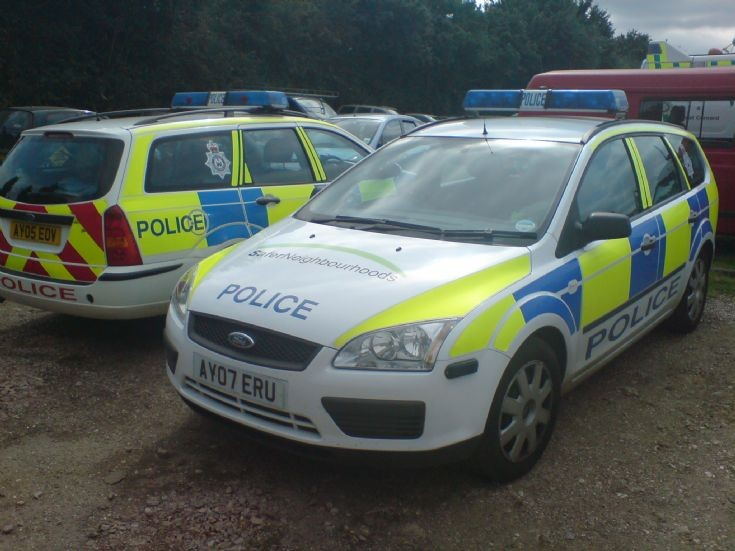 Suffolk Police Constabulary - Patrol Car's 2x