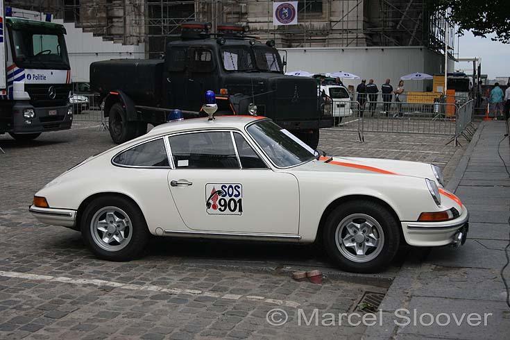 Porsche 911 Rijkswacht Belgium