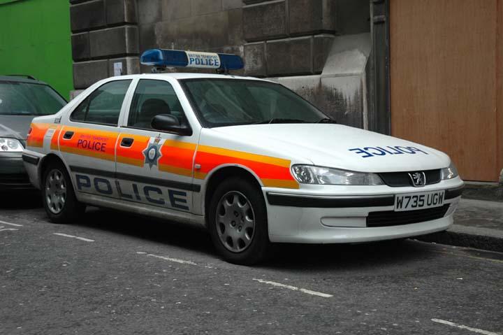 British Transport Police Peugeot  London