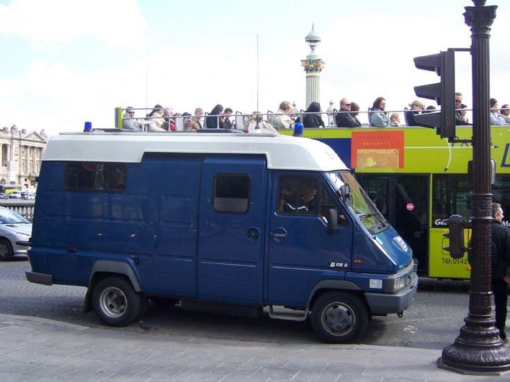 France - Gendarmerie van