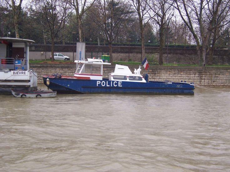 France - Paris police boat