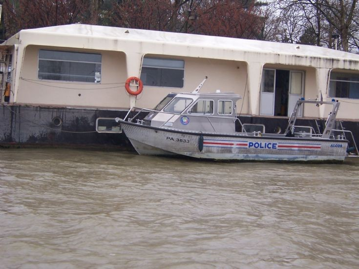 Police boat PA 3833
