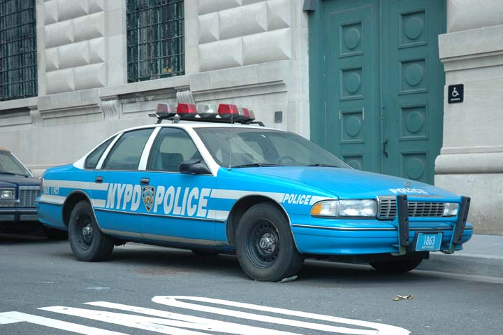 New York Police Department Chevrolet Caprice