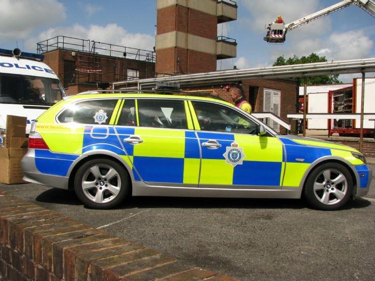 Susssex Police BMW Car