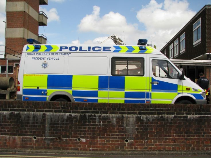 Sussex Police Incident Vehicle