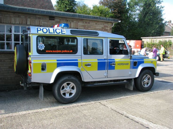 Sussex Police Unit Land Rover