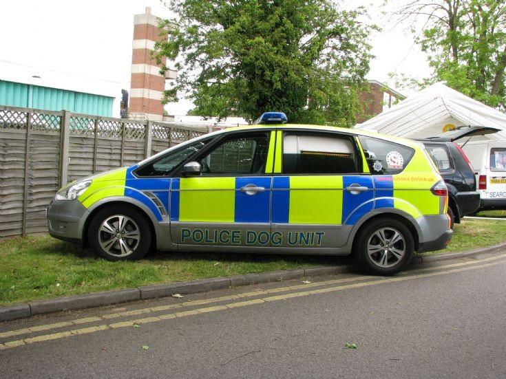 Sussex Police Dog Unit at Horsham