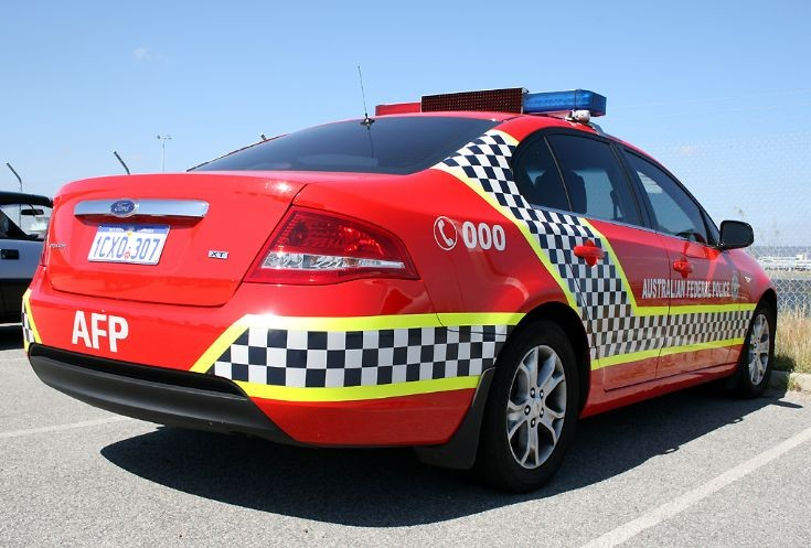Australian Federal Police AFP Patrol Car