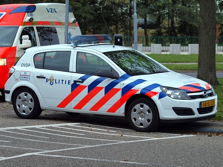 Opel police car
