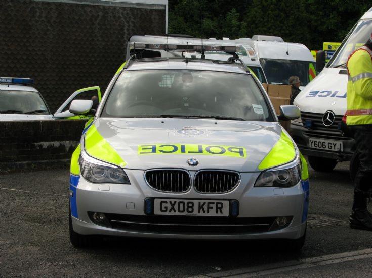 Sussex Police Car BMW GX08 KFR
